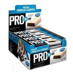 Trio Protein Pro Vit30 Cookies and Cream Display 2... - Fitoflora Produtos Naturais