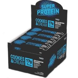 Trio Super Protein Cookies Cream Display 24x40g - ... - Fitoflora Produtos Naturais