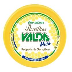 Valda Mais Própolis e Gengibre Zero Açúcar Lata Di... - Fitoflora Produtos Naturais