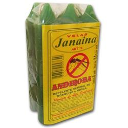 Vela De Andiroba Pacote 6x34g - 12721 - Fitoflora Produtos Naturais