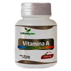 Vitamina A 40 cápsulas x 500mg - 15335 - Fitoflora Produtos Naturais