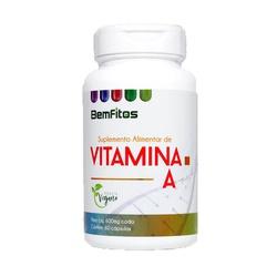 Vitamina A Vegana 60 x 600mg - 17302 - Fitoflora Produtos Naturais