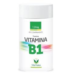 Vitamina B1 Tiamina 60comp x 1,2mg - 11327 - Fitoflora Produtos Naturais