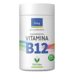 Vitamina B12 60caps x 9mcg - 11956 - Fitoflora Produtos Naturais