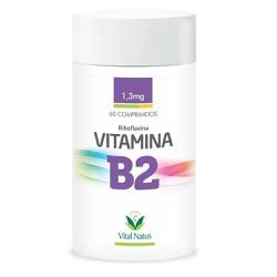 Vitamina B2 Riboflavina 60comp x 1,3mg - 11328 - Fitoflora Produtos Naturais