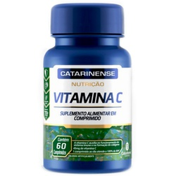 Vitamina C 60 comprimidos x 45mg - 17531 - Fitoflora Produtos Naturais