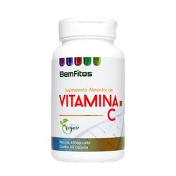 Vitamina C Vegana 60 x 650mg - 17303 - Fitoflora Produtos Naturais