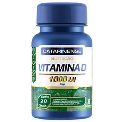Vitamina D 30 Cápsulas 1000ui - 17638 - Fitoflora Produtos Naturais