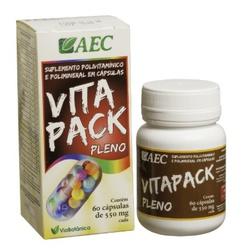 Vitapack Pleno (Polivitamínico) 60 cápsulas - 74 - Fitoflora Produtos Naturais