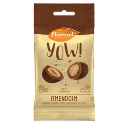 YOW Amendoim com Cobertura Chocolate Zero Display ... - Fitoflora Produtos Naturais