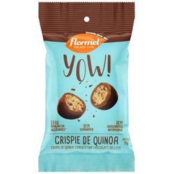 YOW Crispie de Quinoa com Cobertura Chocolate Zero... - Fitoflora Produtos Naturais