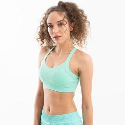 Top Feminino Esportivo Comfort - Verde-Água - 763/... - FIT ROOM