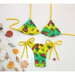 Conjunto Lacinho Aloha - 212121 - Flor Do Rio