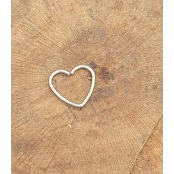 Piercing Aço coração - PI10 - FloriPratas