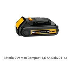 BATERIA 20V MAX LI-ION COMPACT 1.5AH - FLUZAO CONSTRUÇÃO
