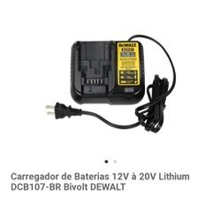 CARREGADOR BIVOLT PARA BATERIAS 12V-20V MAX LI-ION - FLUZAO CONSTRUÇÃO