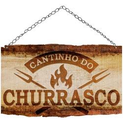 PLACA CANTINHO DO CHURRASCO DHPM5-369 - FLUZAO CONSTRUÇÃO