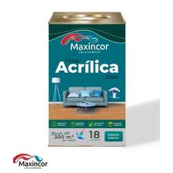 TINTA ACRILICA EXTERNA / INTERIOR BRANCA 18 LT - FLUZAO CONSTRUÇÃO