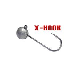 Anzol Jig Head Monster 3x X-hook 5/0 c/ 2un.