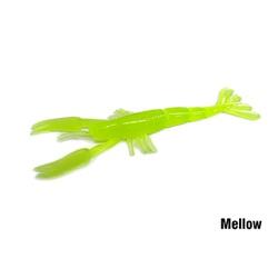 Isca Soft Monster 3x Slow Crab 12cm - 8un. - Focanapesca
