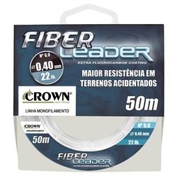 Linha Crown Fiber Leader - c/ 50m - Líder - Focanapesca