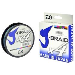 LINHA MULTIFILAMENTO DAIWA J-BRAID X4U 300m - Multicolor