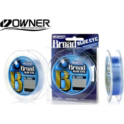 Linha Broad Owner Blue Eye Azul 150M - Focanapesca