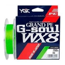LINHA MULTIFILAMENTO YGK G-SOUL GRAND PE WX8 150M - Focanapesca