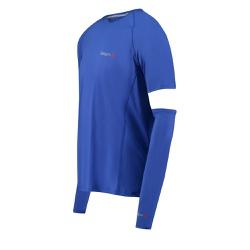 Camiseta Fishing Co. com Manguito Dazz blue - Focanapesca