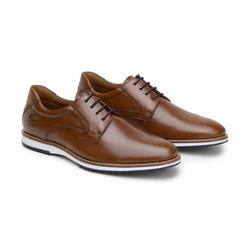 Sapato Casual Leblanc Whisky em Couro - Foco No Sapato