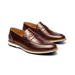 Sapato Casual Martin Marrom em Couro - Foco No Sapato