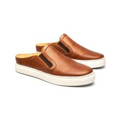 Tênis Mule Jones Marrom em Couro - Foco No Sapato