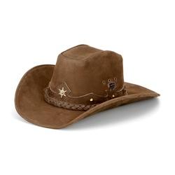 Chapéu Americano Em Couro Legítimo - CPAmTabE - FRANCABOOTS