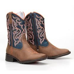 Texana Country Infantil Bico Quadrado - CP202105 - FRANCABOOTS