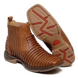 Botina Franca Boots com a sola jump imitaçao Tatu ... - FRANCABOOTS