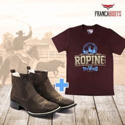 BOTINA + 01 Camiseta - fb004 - FRANCABOOTS