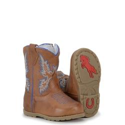 Bota Baby Texana De Couro azul - CP202034/baby - FRANCABOOTS