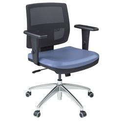 Cadeira Brizza Tela Executiva - Plaxmetal - cadei... - FRANCOLIVETTI