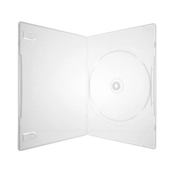 Box DVD Amaray Slim Transparente c/100un. - FRANMIDIAS
