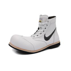 Sapato Palhaço Branco Estilo Ref 181 - COD 181 - FRANPALHAÇO