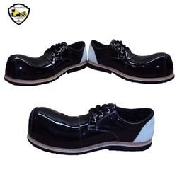 Sapato de Palhaço Preto com Detalhe em Branco Ref ... - FRANPALHAÇO