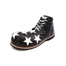 Sapato Palhaço Preto Estrela Ref 518 - COD 518 - FRANPALHAÇO