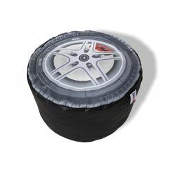 Pufe roda de carro- puff de enchimento - GOOD PUFES