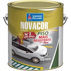 NOVACOR PISO BRANCO 3,6 LTS - 2431 - GRUPOCHIQUINHO