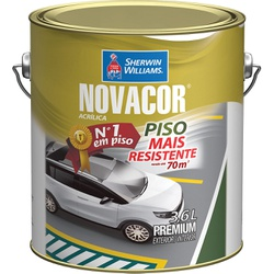 NOVACOR PISO CINZA 3,6 LTS - 2483 - GRUPOCHIQUINHO