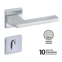 FECHADURA LAFONTE ROSETA 451 CRA 440010285 EXTERNA... - GRUPOCHIQUINHO