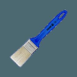 Trincha Média 728- 1.1/2 Sintético Branco- Tigre - Hidráulica Tropeiro
