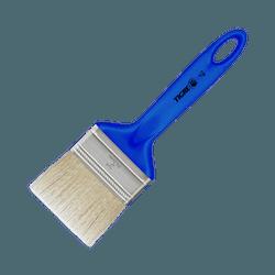 Trincha Media 728-3 Sintetico Branco- Tigre - Hidráulica Tropeiro