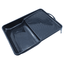Bandeja Plástica Preta Pintura 15cm - Tigre - Hidráulica Tropeiro