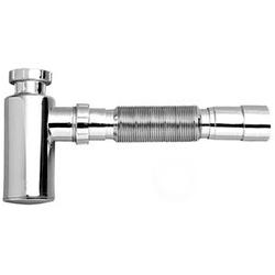 Sifão Ajustável copo p/ lavatório Cromado - Tigre... - Hidráulica Tropeiro